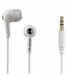 Auricular Hama boton+micro Blanco 177033