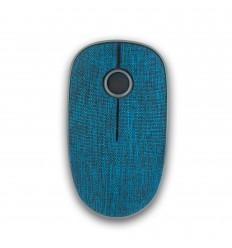 NGS Evo Denim ratón RF inalámbrico Óptico 1200 DPI Ambidextro Azul