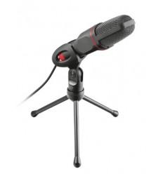 Trust GXT 212 PC microphone Alámbrico Negro