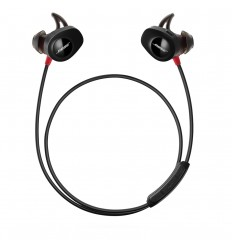 Bose SoundSport Pulse Dentro de oído Binaural Inalámbrico Negro, Rojo auriculares para móvil