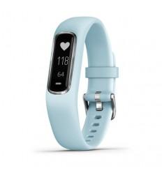 Garmin vívosmart 4 Pulsera de seguimiento de actividad Azul OLED Inalámbrico y alámbrico