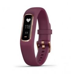 Garmin vívosmart 4 Pulsera de seguimiento de actividad Oro rosa OLED Inalámbrico y alámbrico
