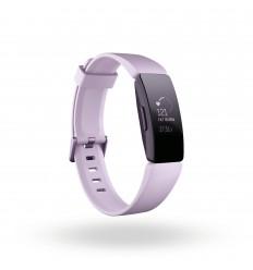 Fitbit Inspire HR Pulsera de actividad Negro, Rosa OLED