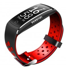 Pulsera Infiniton Pulse Band Rojo