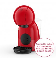 Cafetera Dolce Gusto Krups Piccolo XS Roja KP1A05SC