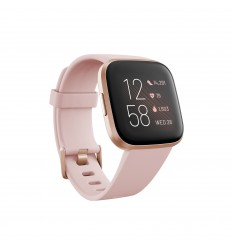 "Fitbit Versa 2 reloj inteligente Negro, Oro rosa AMOLED 3,55 cm (1.4"")"