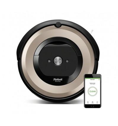 iRobot Roomba e6 aspiradora robotizada Sin bolsa Beige, Negro