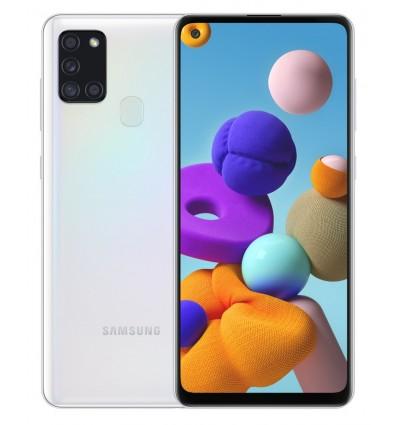 "Samsung Galaxy A21s SM-A217F 16,5 cm (6.5"") SIM doble Android 10.0 4G USB Tipo C 3 GB 32 GB 5000 mAh Blanco"