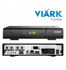 Sintonizador Satélite VIARK COMBO España Oficial Web SAT+TDT FULL HD WIFI
